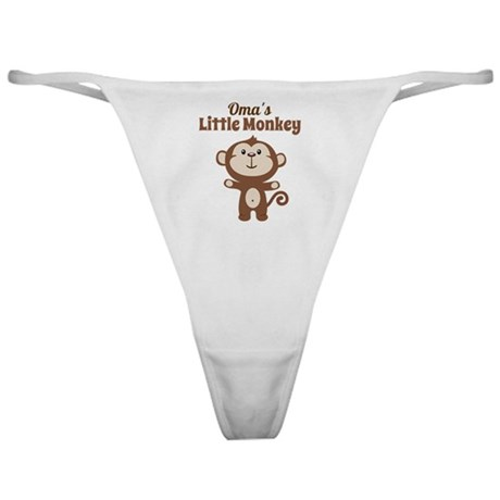 Omas Little Monkey Classic Thong