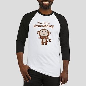 Yia Yias Little Monkey Baseball Jersey