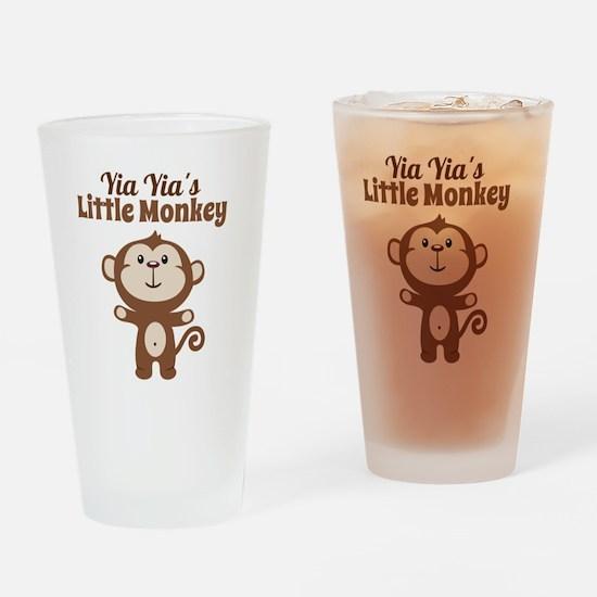Yia Yias Little Monkey Drinking Glass