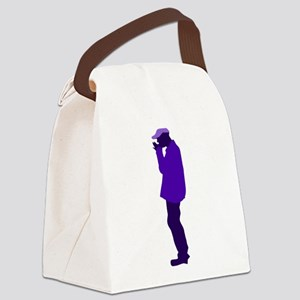 street busker Canvas Lunch Bag