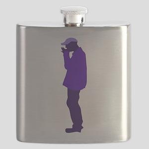 street busker Flask
