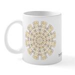 Treble Alto Clef Mandala Mug