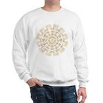 Treble Alto Clef Mandala Sweatshirt
