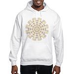 Treble Alto Clef Mandala Hooded Sweatshirt