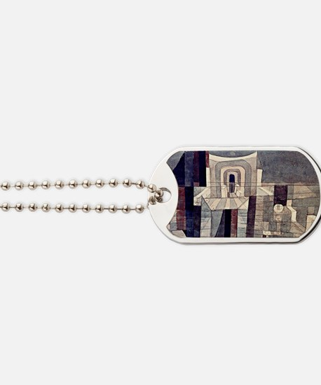 Klee - Architecture in Red and Green Dog Tags