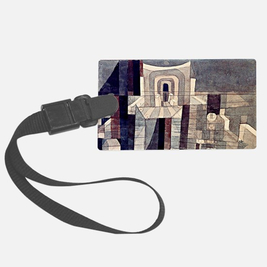 Klee - Architecture in Red and G Luggage Tag