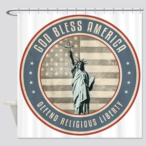 Defend Religious Liberty Shower Curtain
