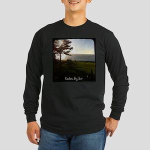 Front lawn at Esalen, Big Sur Long Sleeve T-Shirt