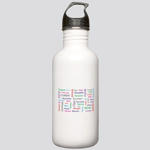 Mishmash of scottish words Sports Water Bottle