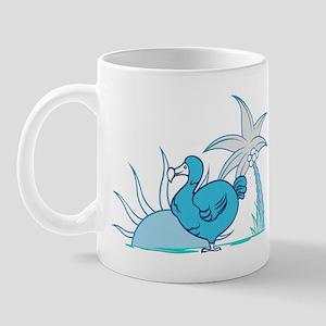 Blue dodo Mug