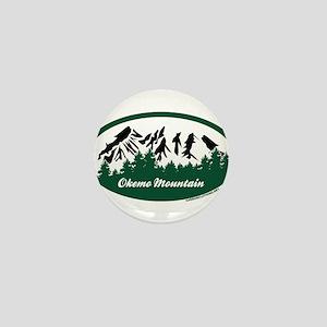 Okemo Mountain State Park Mini Button