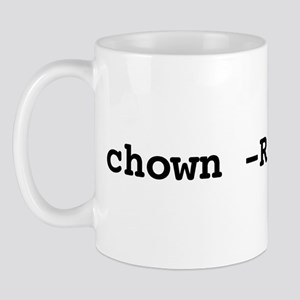 chown -R me you Mug