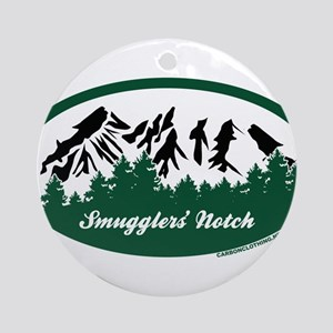 Smugglers Notch State Park Ornament (Round)