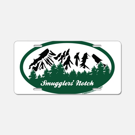 Smugglers Notch State Park Aluminum License Plate