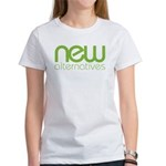New Alternatives Women's Classic White T-Shirt