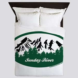 Sunday River State Park Queen Duvet