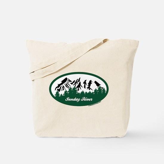 Sunday River State Park Tote Bag