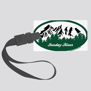 Sunday River State Park Luggage Tag