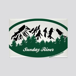 Sunday River State Park Magnets