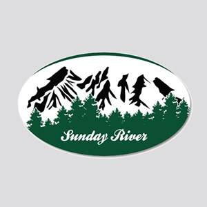 Sunday River State Park Wall Decal