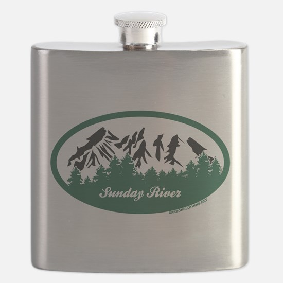Sunday River State Park Flask