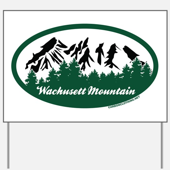 Wachusett Mountain State Park Yard Sign