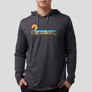 Ocracoke Island - Beach Design Long Sleeve T-Shirt