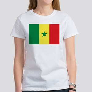 Senegal Flag Women's T-Shirt