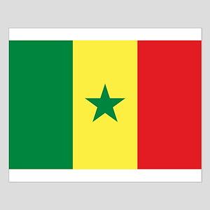 Senegal Flag Small Poster
