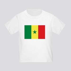 Senegal Flag Toddler T-Shirt