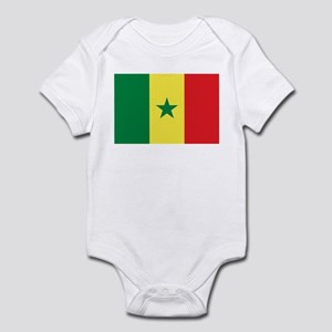 Senegal Flag Infant Bodysuit