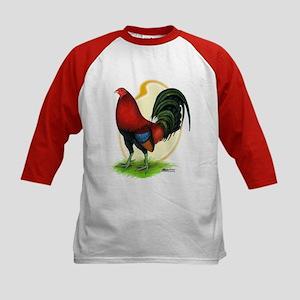 Red Gamecock3 Kids Baseball Jersey