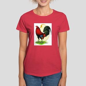 Red Gamecock3 Women's Dark T-Shirt
