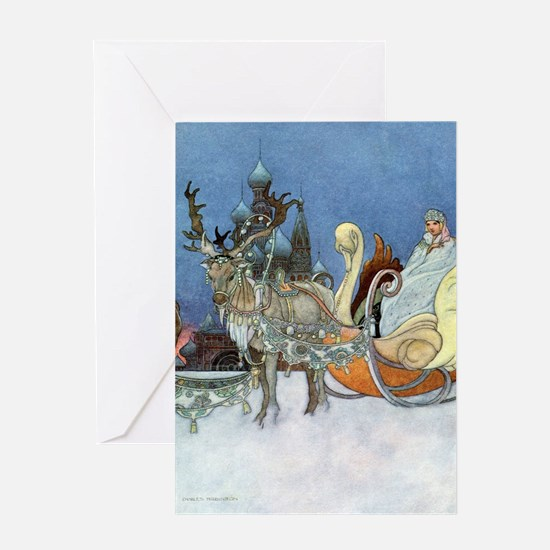 Snow Queen Ice Princess Greeting Cards
