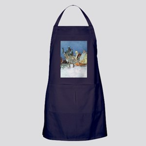 Snow Queen Ice Princess Apron (dark)