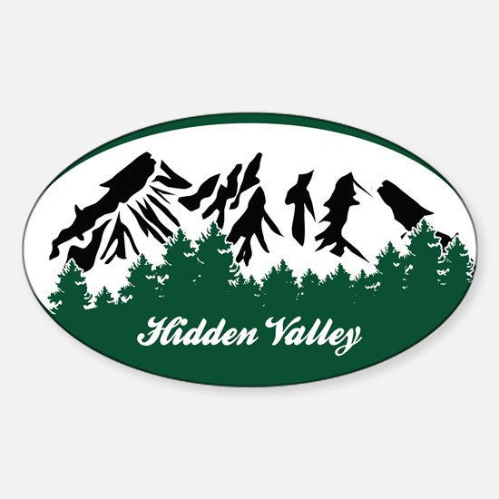 Lost Valley State Park Sticker (Oval)