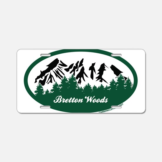 Dartmouth Skiway State Park Aluminum License Plate