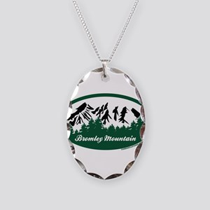 Dartmouth Skiway State Park Necklace Oval Charm