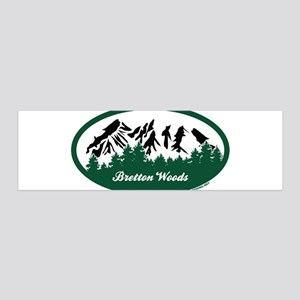 Dartmouth Skiway State Park 36x11 Wall Decal