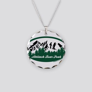 Bolton Valley State Park Necklace Circle Charm