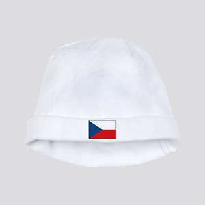 Czech Flag Baby Hat