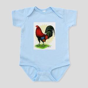 Red Gamecock2 Infant Bodysuit