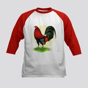 Red Gamecock2 Kids Baseball Jersey