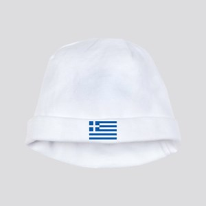 Greek Flag Baby Hat