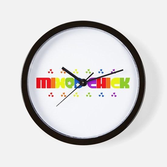 Mixed Chick Wall Clock