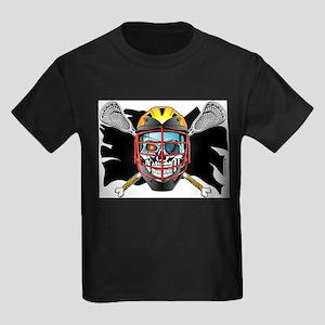 Pirate Lacrosse @ eShirtLabs Ash Grey T-Shirt