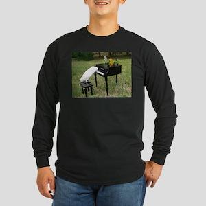 Pianist Parrots Long Sleeve T-Shirt