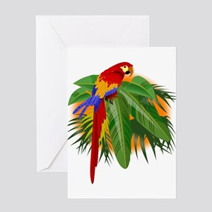 parrot Greeting Cards