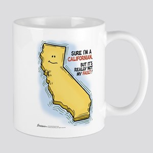 California cartoon Mugs