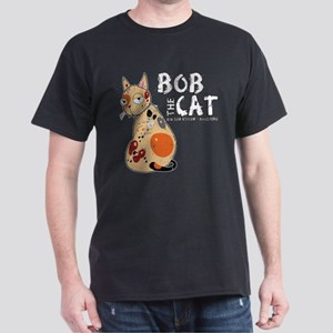 Bob The Cat Dark T-Shirt
